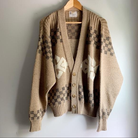 Vintage London Fog Button Down Cardigan Sweater L
